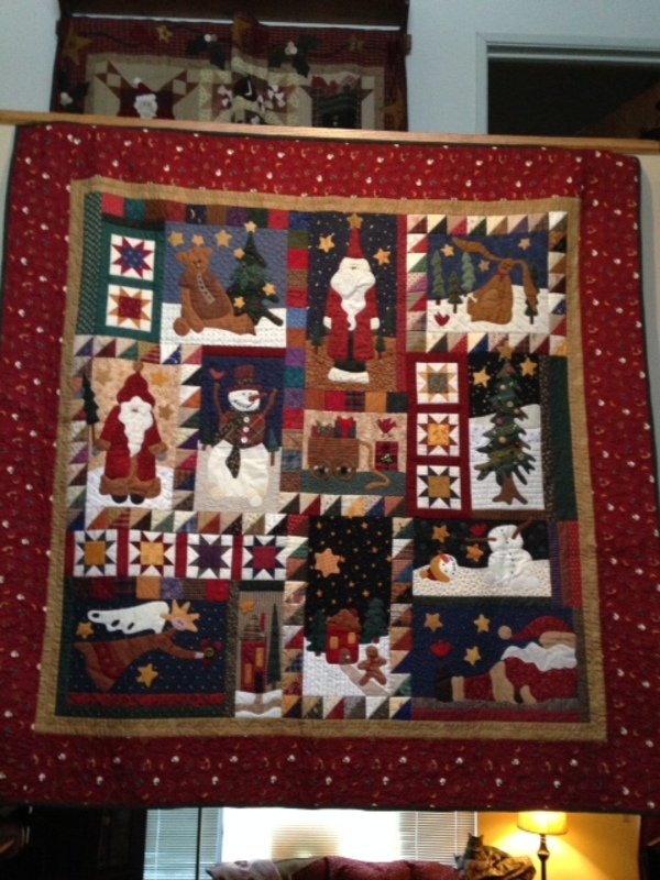 Featured Holiday Quilts: December 9