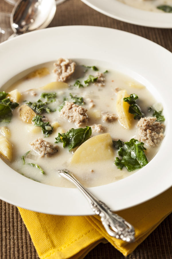 You can now make your favorite olive garden soup at home - Recipe for olive garden zuppa toscana ...