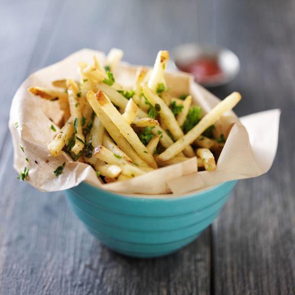Addicting Fries Recipe: Baked Truffle And Garlic Fries