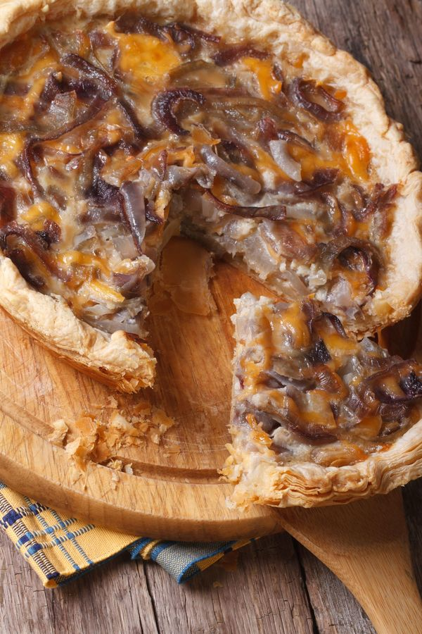 Classically Delicious Brunch: French Onion Tart