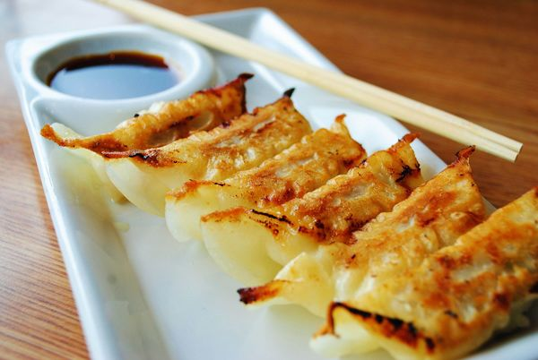 Sweet and Savory Asian Appetizer: Fried Pork Gyoza