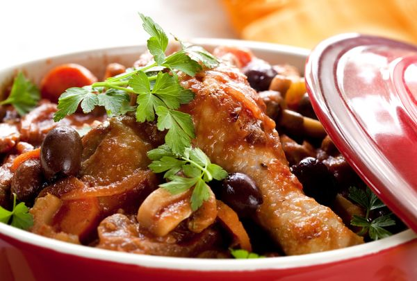 Perfectly Easy Dinner Recipe Hearty Slow Cooker Chicken Cacciatore