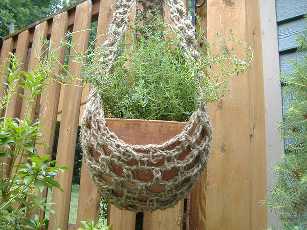 Create Your Own Crocheted Plant Hanger!