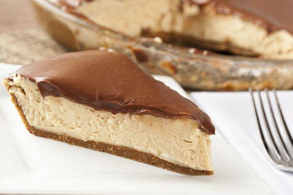 Sweet & Salty Dessert Recipe: Pretzel Crust Chocolate-Topped Peanut Butter Pie