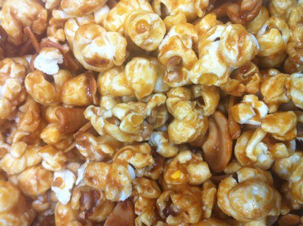Deliciously Easy Snack Recipe: Peanut Butter Caramel Turtle Popcorn