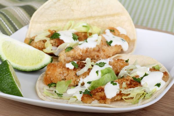 South Of The Border Seafood Recipe: Classic Beer-Battered Baja Fish Tacos