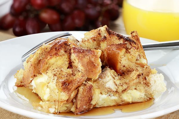 Scrumptious Breakfast Casserole: Cinnamon French Toast And Cream Cheese Bake