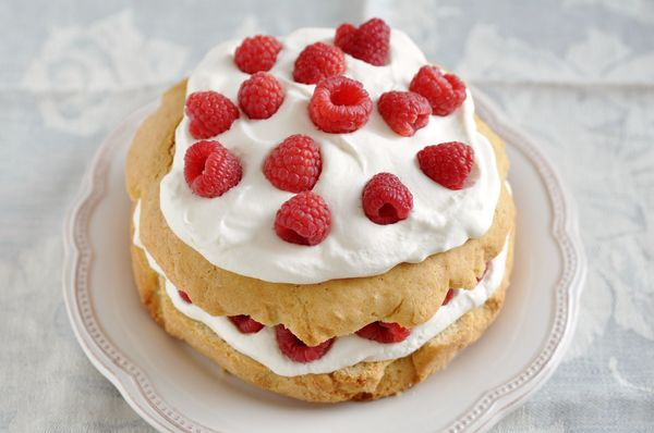 A Light, Springtime Staple: Fresh Raspberry Shortcake