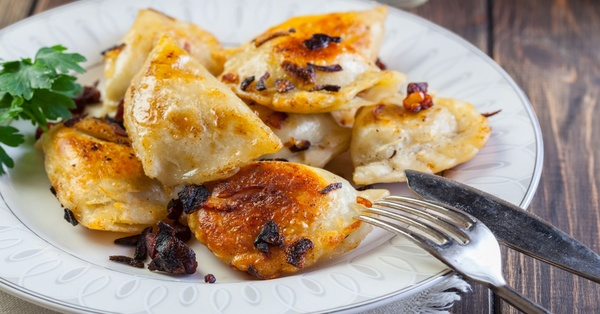 The Rulers Of The Dumpling Dynasty! : Savory Spiced Meat Pierogi