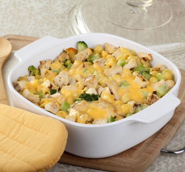 Tasty Bake: Cheesy Chicken Broccoli Casserole