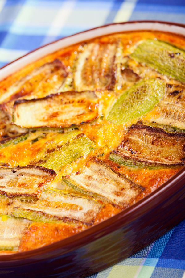 Easy And Delicious Veggie Dish: Zucchini Eggplant Cheese Bake