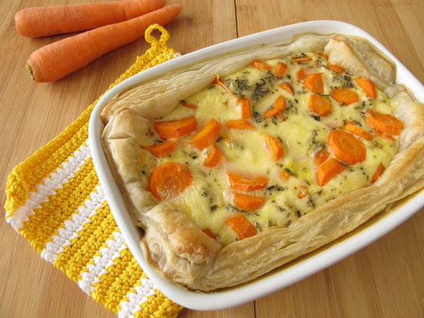 Easy, Comforting Classic: Puff Pastry Vegetable Pot Pie Casserole