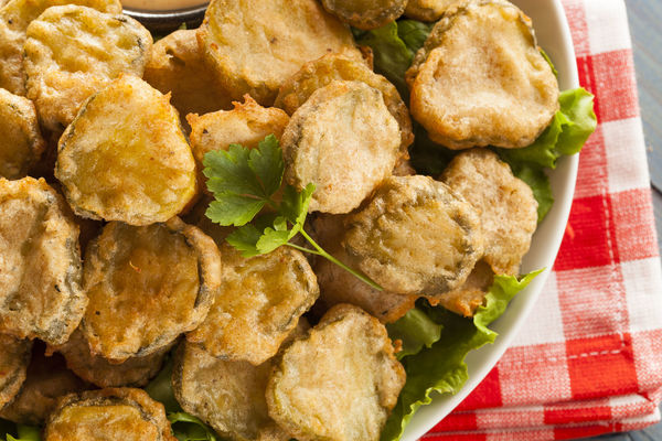 We Love This Indulgent Snack Perfectly Seasoned Fried Pickles And Dip
