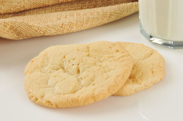 Simple And Sweet, These Sugar Cookies Hit The Spot Every Time!