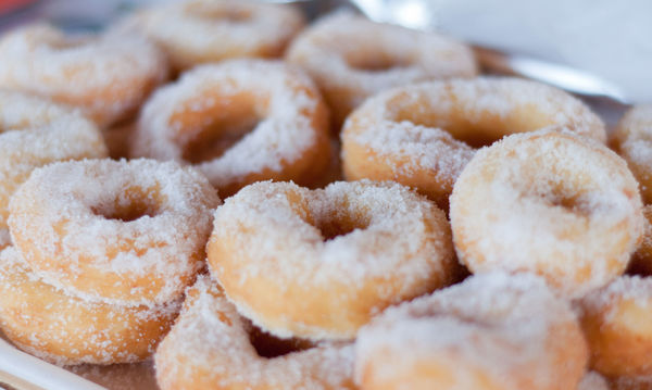 You'll Never Guess The Secret Ingredient In These Perfectly Delicious Doughnuts!...
