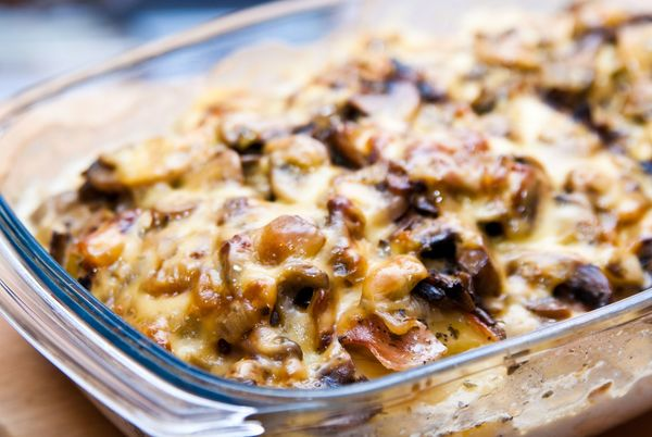 Hungry? This Creamy And Cheesy Mushroom Potato Casserole Will Make Your Mouth Water