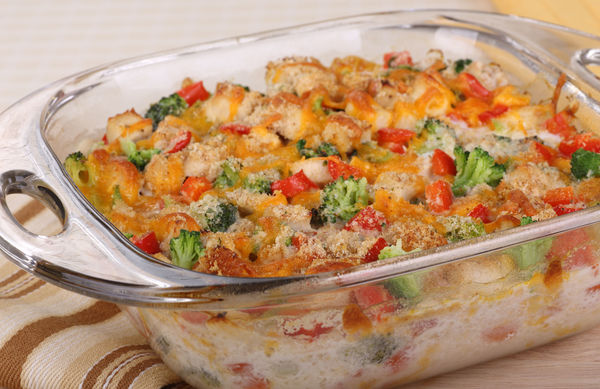What Better Way To Get Your Protein And Nutrients Than With This Chicken Broccoli Bake?