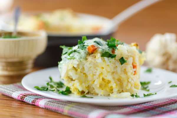 You'll Never Guess What Makes This Rice So Cheesy And Creamy...You'll Love It!!