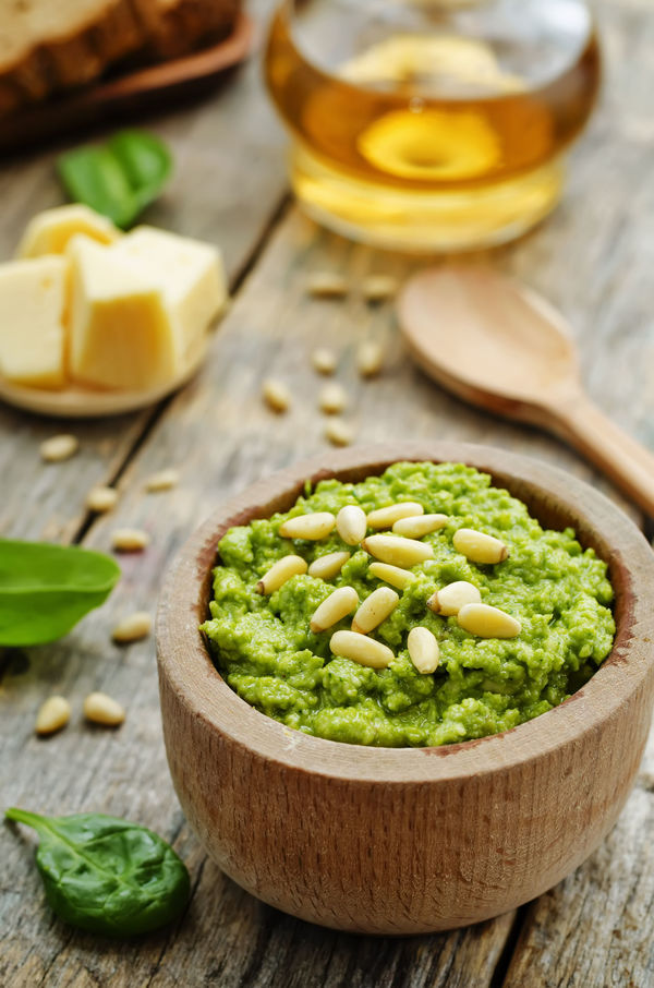 Pesto Dip Like You've Never Had It Before...We've Been Putting It On Everything!!