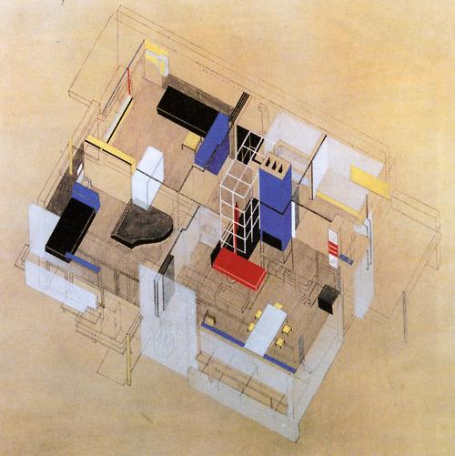 Gerrit Rietveld - Schroder House - Axon.jpg