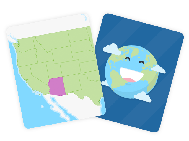 50 US States Flashcards