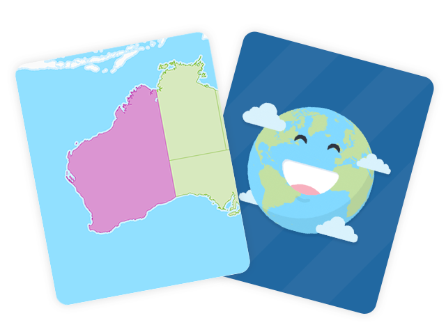 Australian States and Territories Flashcards
