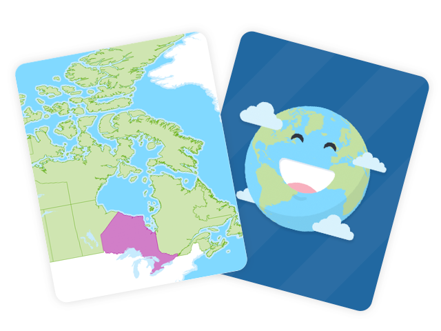 Canadian Provinces and Territories Flashcards