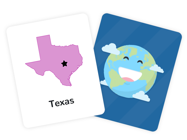 50 US State Capitals Flashcards