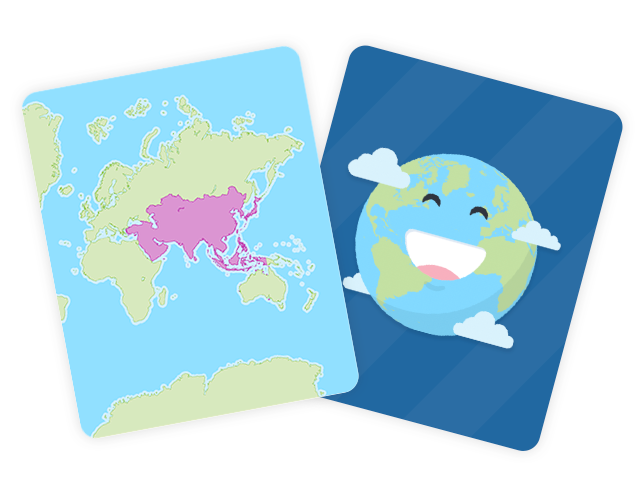 World Continents Flashcards