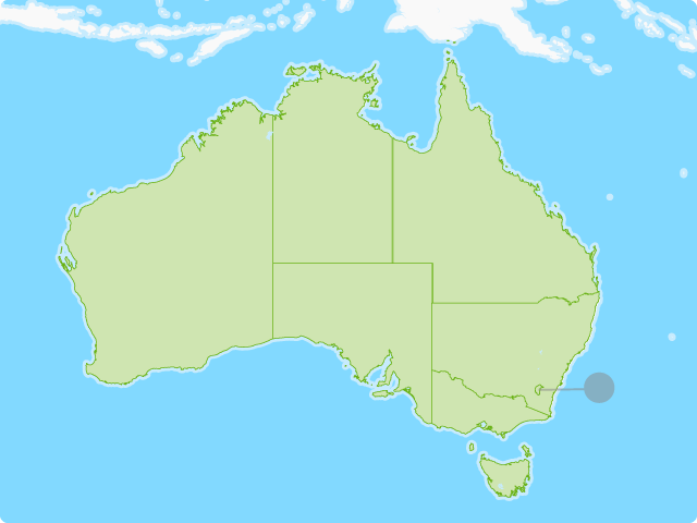 Australian States and Territories Map Quiz