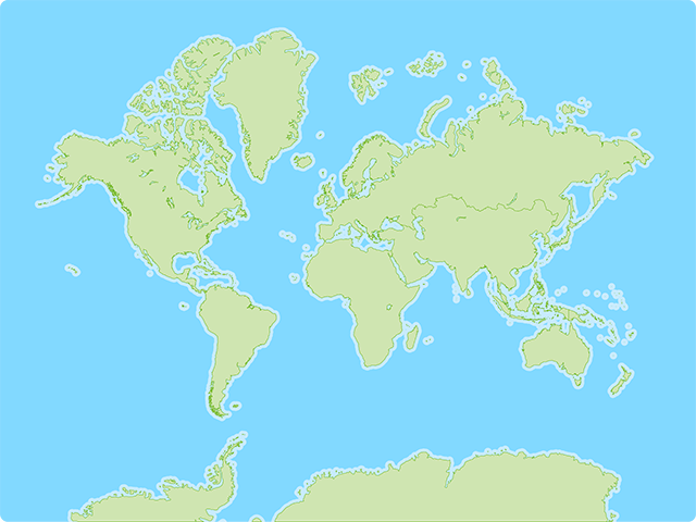 World Continents Map Quiz