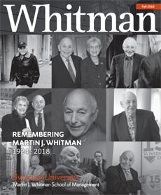 Whitman Tribute Magazine