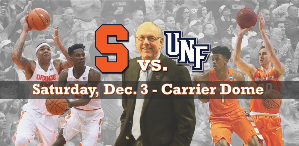 N Florida Schedules First Cuse Visit Syracuse University Athletics