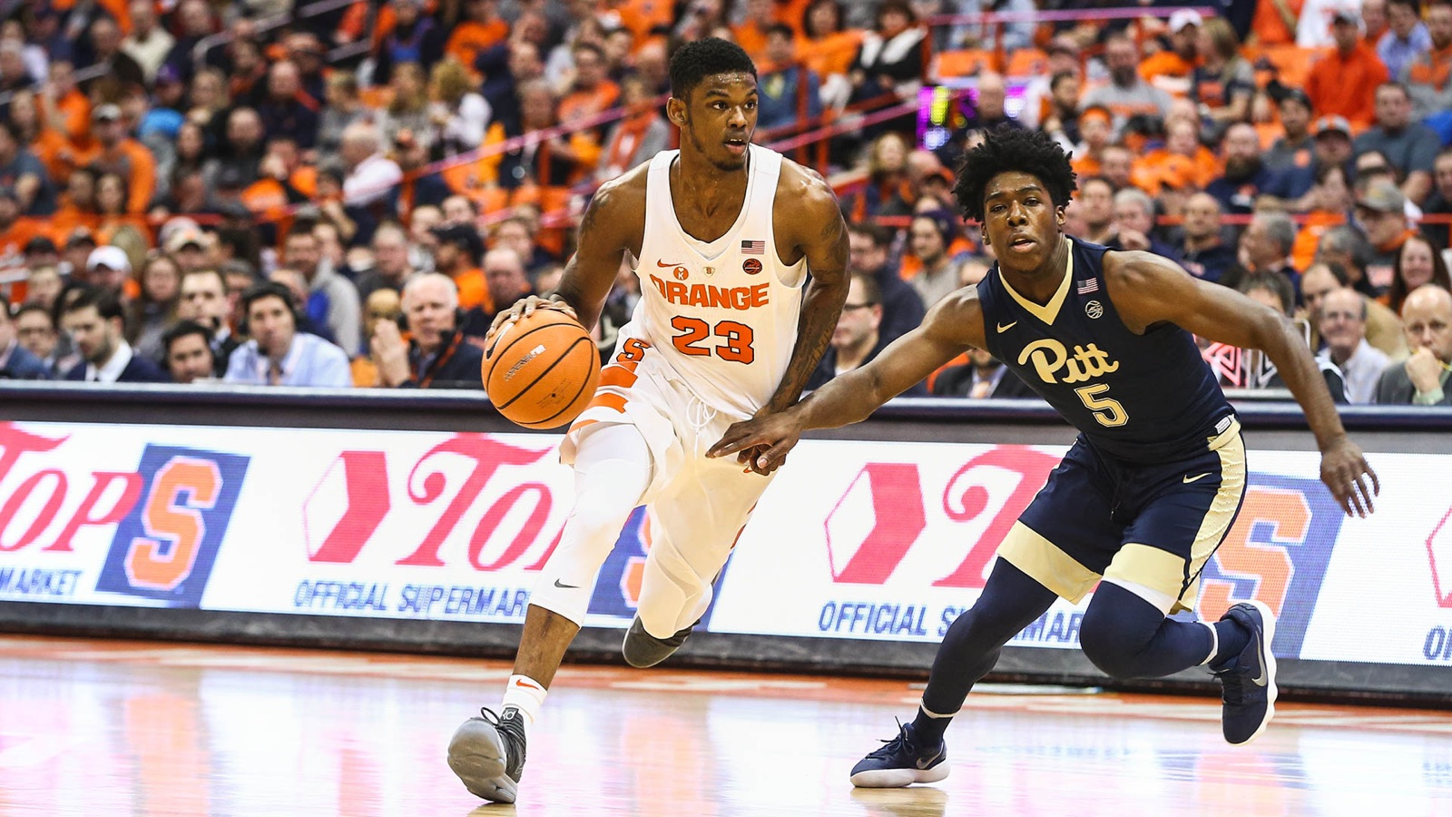 Howard Paces Orange Past Panthers Syracuse University Athletics