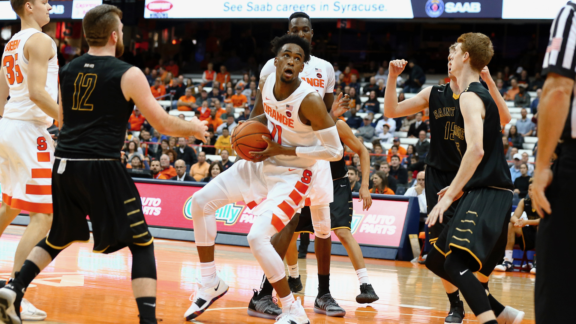 Brissett Newcomers Lead Orange In Exhibition Syracuse University