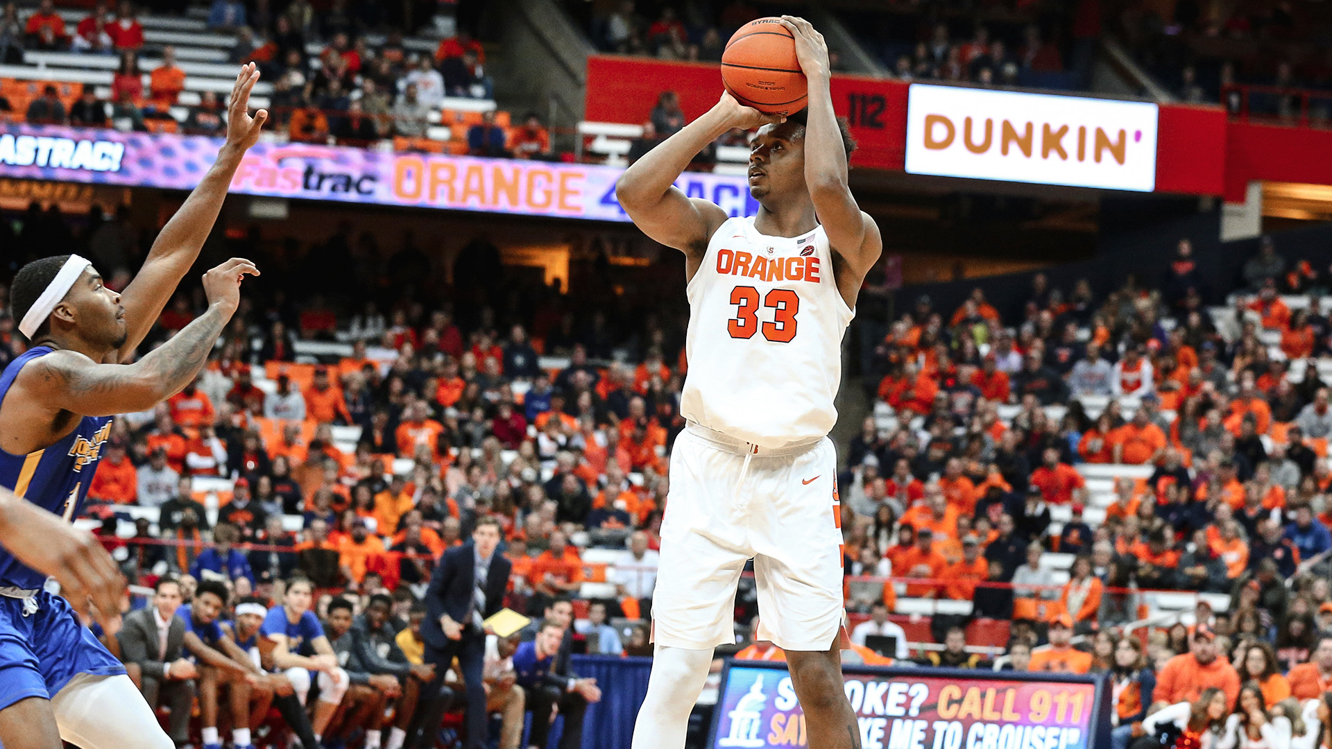 Battle Hughes Lead Orange Past Morehead State Syracuse University