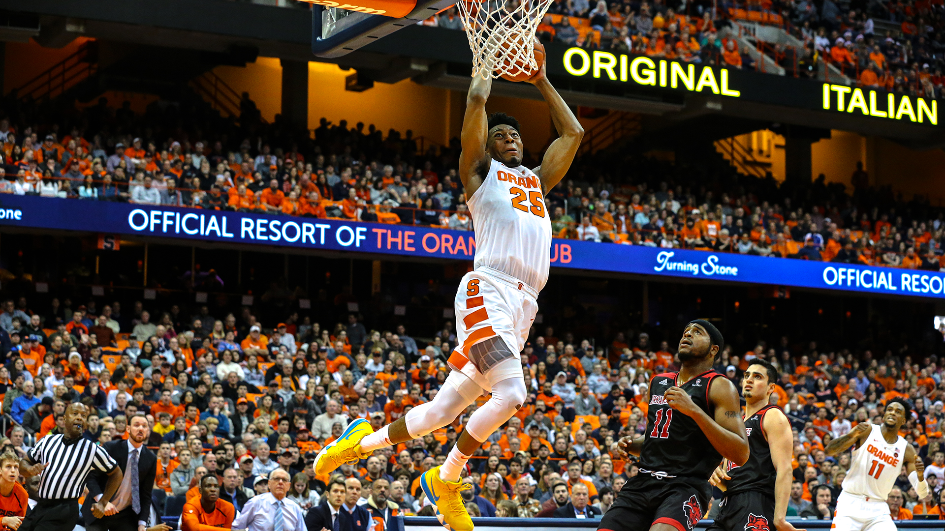 Second Half Showing Lifts Orange To Victory Syracuse University