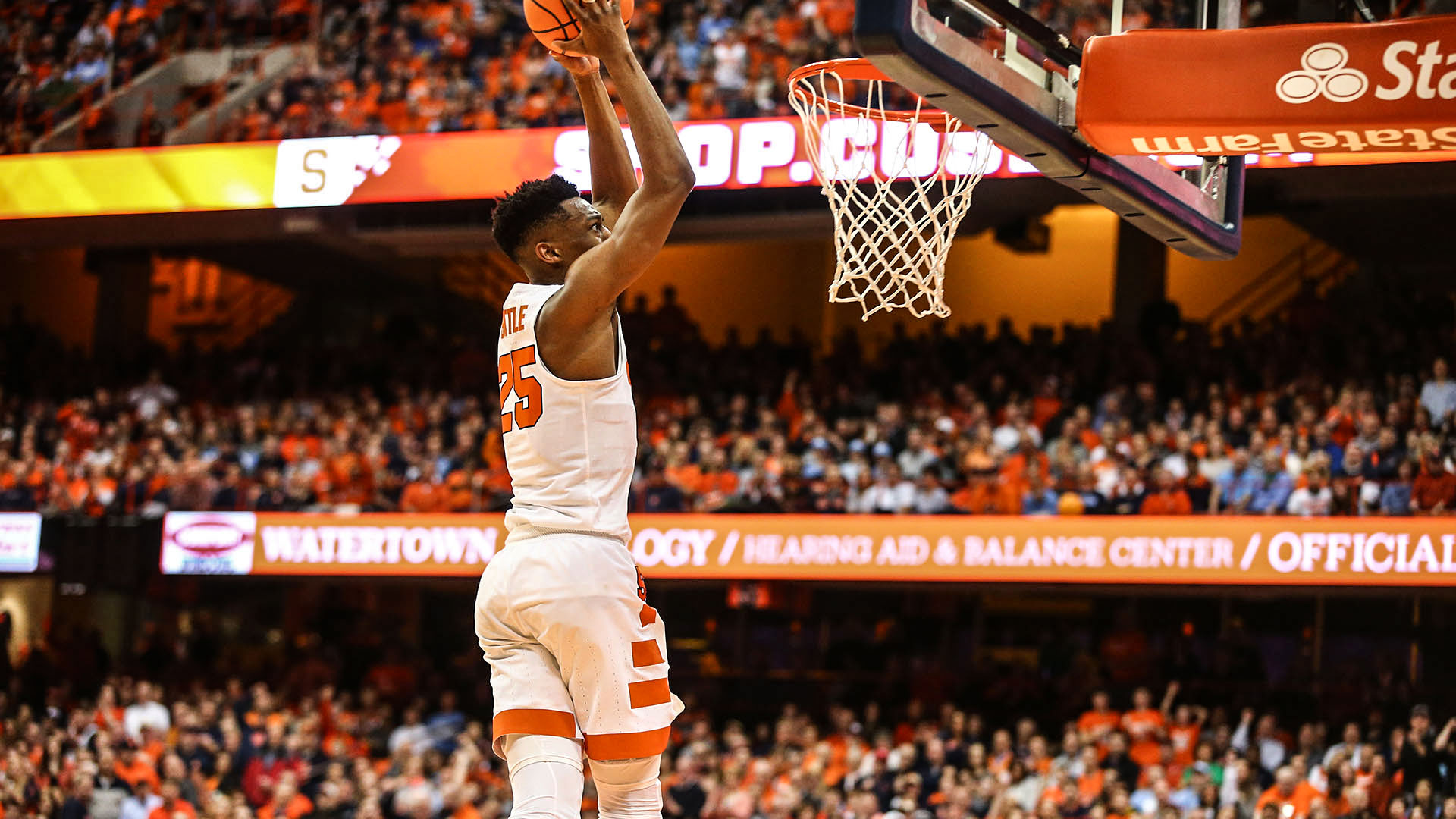 Orange Host Clemson On Senior Day Syracuse University Athletics