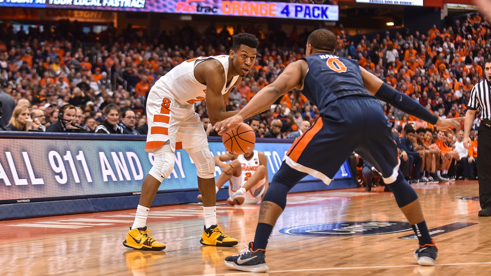 Cuse Topped By 2 Virginia Syracuse University Athletics