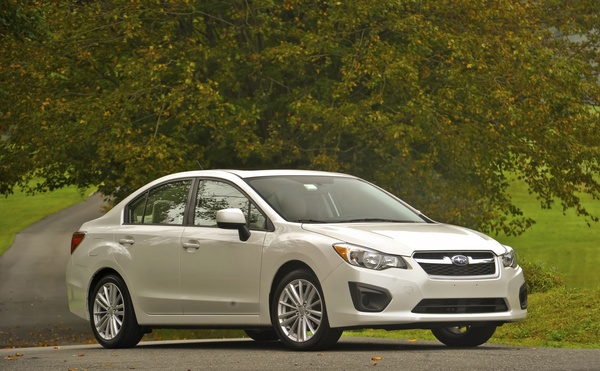 2012 Subaru Impreza New York