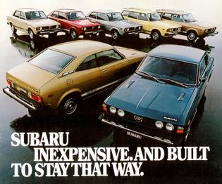 "An early brand advertising tagline proclaimed that Subaru vehicles were ""Inexpensive and Built to Stay That Way."""