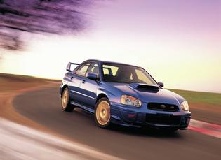 "Subaru WRX STI Production: 2002-Present Introduced at the NAIAS in 2001 as part of the Impreza full redesign for 2002   WRX stands for ""World Rally eXperimental""   Powered by a 2.0-liter, turbo-charged, intercooled BOXER engine with 227 hp. and 217 lb-ft. of torque   In 2004, the WRX STI (Subaru Tecnica International) version of the WRX was introduced   Established the performance sport sedan segment in the U.S. market."