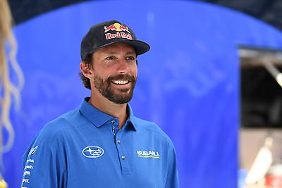 Travis Pastrana is the driving force behind Nitro Rallycross as an action sports legend and co-founder of Nitro Circus alongside his successful rally career.