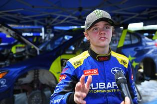 Oliver Solberg persevered through an up-and-down weekend in New England and remains in third place overall in the 2019 ARA championship.