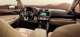 The all-new 2015 Outback. Interior. (April, 2014).