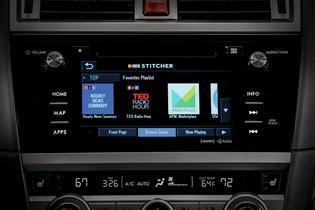 Subaru STARLINK – Stitcher App
