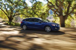 2018 Subaru Impreza Limited-5dr-blue-trees