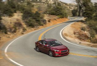2018 Subaru Impreza Limited-Sedan-red