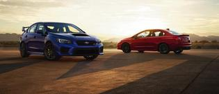 2018 Subaru WRX and STI