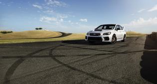 2020 WRX and STI Series.White
